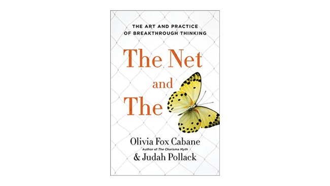 The Net and the Butterfly: The Art and Practice of Breakthrough Thinking, by Olivia Fox Cabane and Judah Pollack